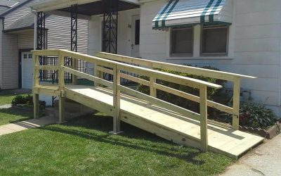 Why Are Wheelchair Ramps Built in Front of a Home?