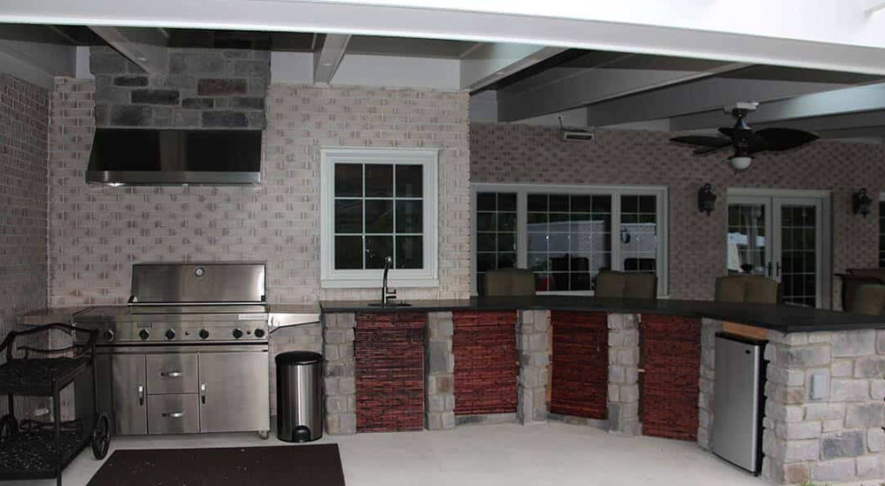residential remodeling outdoor kitchen