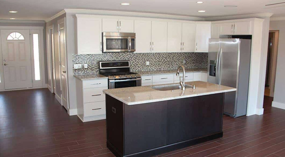 residential remodeling kitchen after photo