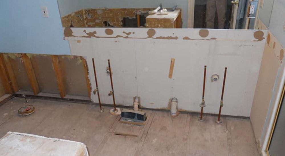 Before-Water Damage Restoration